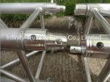 390 X 390 Truss cuadrado de aluminio con conexión espiga
