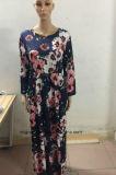 Оптовая торговля красивыми цветочными Corloful Maxi платья