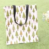 Shopping le stockage de toile sacoche pour portable sac étanche étudiant Boîte à lunch paquet de l'environnement