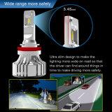 2018 Nouveau 360 Degré révisables auto voiture des ampoules des feux de tête H4 H7 H13 9007 6000lm CREE F2 Projecteur à LED avec Canbus décodeur
