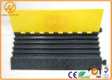 Haut de résister à une forte compression souples Protecteur de câble en caoutchouc 5 canaux