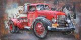 車のための3D金属の卸売の通りの油絵の再生