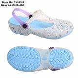 Tamancos de salto alto de gelatina sandálias, sapatos de gelatina superior de PVC unissexo