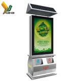 Visor LED de fábrica de Shenzhen Publicidade compartimentos de classificação