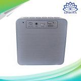 Bluetoothの携帯用スピーカーLEDの時間表示クロックアラーム拡声器が付いている無線ステレオ音楽Soundbox