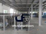 ölverschmutzter industrieller schraubenartiger 37kw Luftverdichter mit Luft-Becken