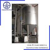 Camisa de aço inoxidável / depósito de mistura industrial com o agitador do tanque de armazenamento
