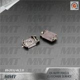 De Doos BS-2032-8c2.0 van de Batterij van de Houder van de Batterij van Cr2032 SMT