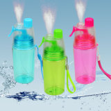 Портативные спортивные 350 мл спрей чашки пластиковые бутылки воды