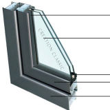 建物ガラスまたはガラス壁のための低いE二重強くされた絶縁されたガラス