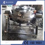 Dissolution du sucre en acier inoxydable avec agitateur de Kettle de cuisson de la machine