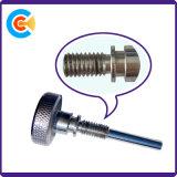 Vis moletées non standard de connecteur d'opération des vis M6X43 d'acier du carbone