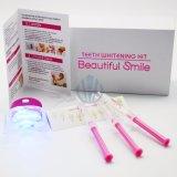 Jogo profissional do descoramento dos dentes que Whitening o sistema diodo emissor de luz que Whitening o jogo