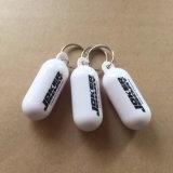 С ПЛАВАЮЩЕЙ ЗАПЯТОЙ пластиковые кольца для ключей с торговой маркой для изготовителей оборудования