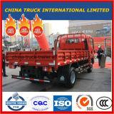 5t de Lichte Vrachtwagen van HOWO met Doos/Van Cargo, Anderhalf Rij