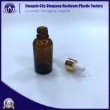 Großhandelsglasflasche bernsteinfarbiges E-Liquid-Glass-Bottle-with-Dropper-Empty-1oz-Glass des tropfenzähler-30ml