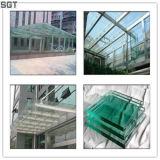 외벽과 층계를 위한 PVB 박판으로 만들어진 유리