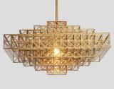Moderne goldene Dekoration passen hängendes Licht an (GD18133P)