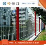Ral6005 Melhor Curved Anti subir o fio dupla barreira de segurança