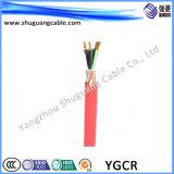 매체 Voltage/XLPE Insulated/PE 넣어지는 Non-Magnetic 강철 기갑 또는 전기 또는 고압선