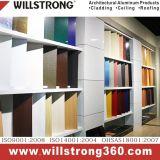 Los paneles de signo de la impresión digital de panel compuesto de aluminio fachadas arquitectónicas dosel de los paneles de señalización de techo Fachadas ventiladas