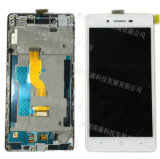 Oppo A53の(白い)表示タッチ画面の計数化装置アセンブリのための卸し売り携帯電話のタッチ画面LCD