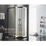 流行の簡単なシャワー室のステンレス鋼のガラスドアハンドル(YMD-6304)