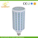 LED blanc chaud haute puissance de lampes de maïs avec couvercle en plastique