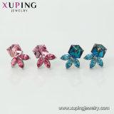 Ручная работа Xuping пресноводных Pearl конструкций из кристаллов Swarovski дамы красивые шпильки крепления серьги