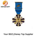 Exército de alta qualidade personalizada honra Medalha Militar Badge
