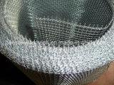 Rete metallica unita lavorata a maglia dell'acciaio inossidabile del foro quadrato
