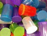 بلاستيكيّة مستحضر تجميل زجاجة مع فرقعة أعلى غطاء