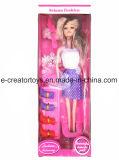 Die 11 Zoll-Puppe mit Schuh-Beutel-Kamm-neuen Spielwaren