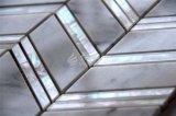 2017新しいデザイン真珠色のシェルの組合せの大理石のモザイク・タイル300*300mm