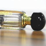 Bottiglia di profumo di cristallo di piccola capacità da 6 ml con la protezione nera