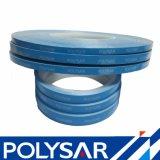 O dobro azul da tela da fibra de vidro da película tomou o partido fita para a lâmpada do diodo emissor de luz
