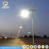 Lumière lumineuse superbe utilisée courante de l'Afrique 60W DEL avec 8m Pôle