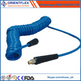 Buena manguito reforzado de la PU bobina neumática colorida flexible