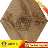 Polished деревянная плитка пола стены плитки фарфора взгляда (23607-A)