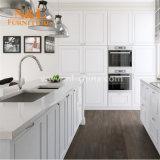 Ausrtalia Art-weiße preiswerte feste Schüttel-Apparatküche-Schränke