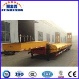 3車軸60トン13mの低いベッドのセミトレーラーまたは半Lowboyのトラックのトレーラー