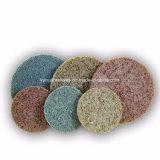 China Fabricante da roda de polimento de Nylon Non-Woven abrasivos para tratamento de superfícies metálicas de aço inoxidável