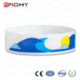 Tyvek bracelete RFID promocionais para eventos
