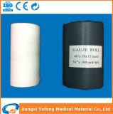 rullo assorbente medico idrofilo della garza candeggiato cotone della maglia di 20X11 19X15 24X20 100%