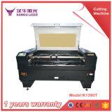 Taglio del laser del CO2 di legno, dell'acrilico, del panno e macchina per incidere del laser