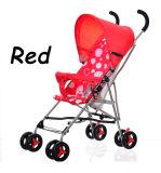 Unterstützungs-Soem-Sommer-Art-Baby-Spaziergänger-beweglicher faltender Baby-Spaziergänger
