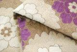 Tela floral del telar jacquar del Chenille de la tela del sofá (FTH31139)