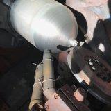Thg322 격판덮개 유형 CNG 저장 탱크 최신 회전시키는 기계