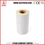 Étiquette auto-adhésive avec le papier thermosensible de qualité supérieur