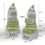 Neuer Entwurfs-Flaschen-Fußboden-Knall-Ausstellungsstand